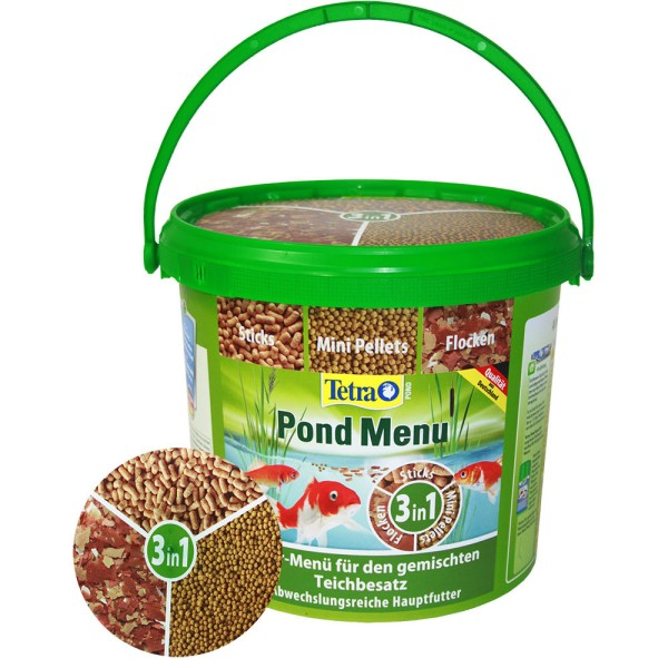 TETRA Pond Menu 3in1 Fischfutter 800g - 4004218284623 | © by teichfreund24.de