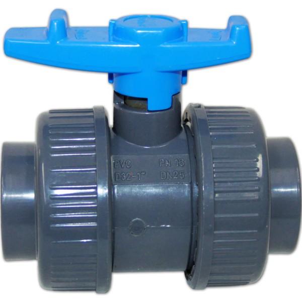 PVC Kugelhahn 32mm