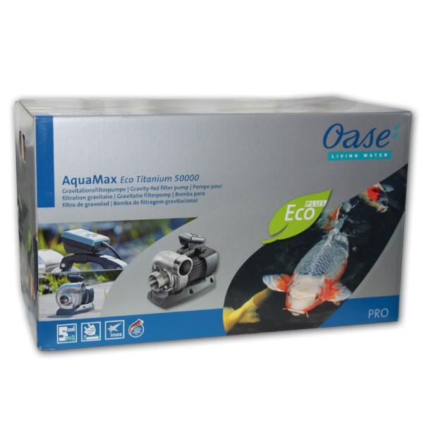 OASE AquaMax Eco Titanium 50000 Teichpumpe - 4010052399188 | © by teichfreund24.de