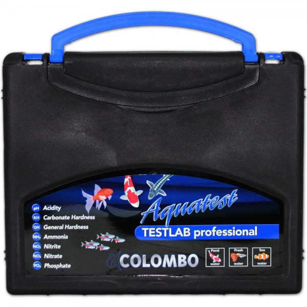 COLOMBO Testlab Professional Wassertestkoffer - 8715897042447 | © by teichfreund24.de