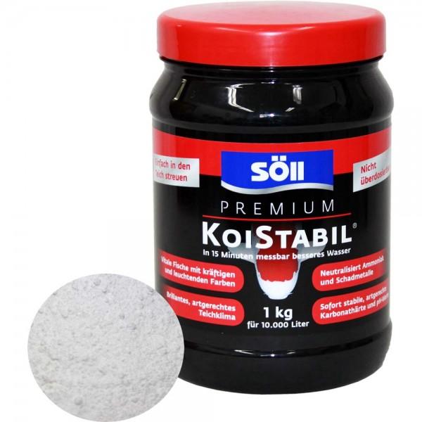SÖLL Koistabil Premium Wasseraufbereiter 1000g - 4021028155202 | © by teichfreund24.de