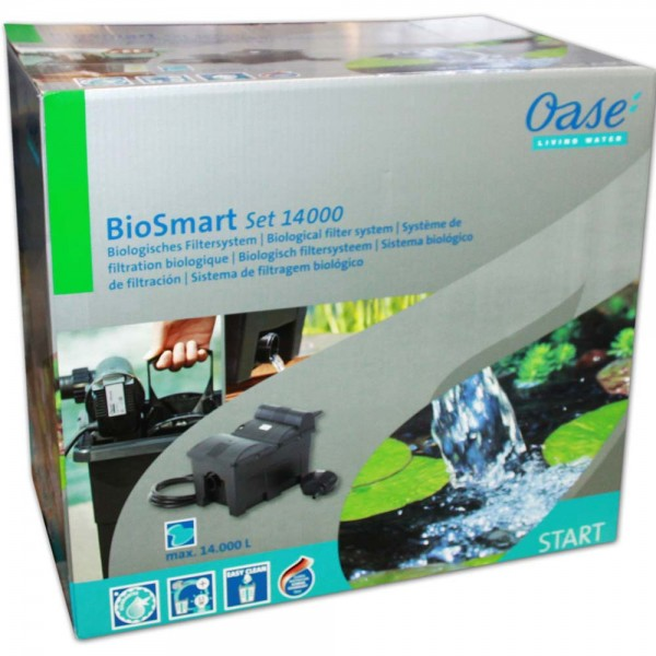 OASE BioSmart 14000 SET Teichfilter+Pumpe+UVC - 4010052504513 | © by teichfreund24.de