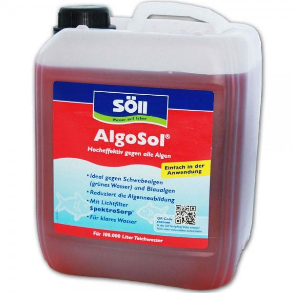 SÖLL AlgoSol Algenbekämpfung 5L - 4021028103456 | © by teichfreund24.de