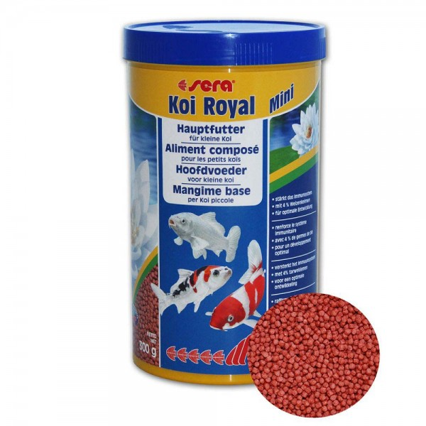 Sera Koi Royal mini Koifutter 300g - 4001942071109 | © by teichfreund24.de