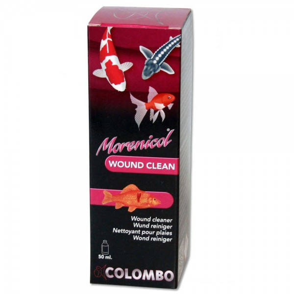 COLOMBO Morenicol Wound Clean Fischmedizin 50ml - 8715897081736 | © by teichfreund24.de