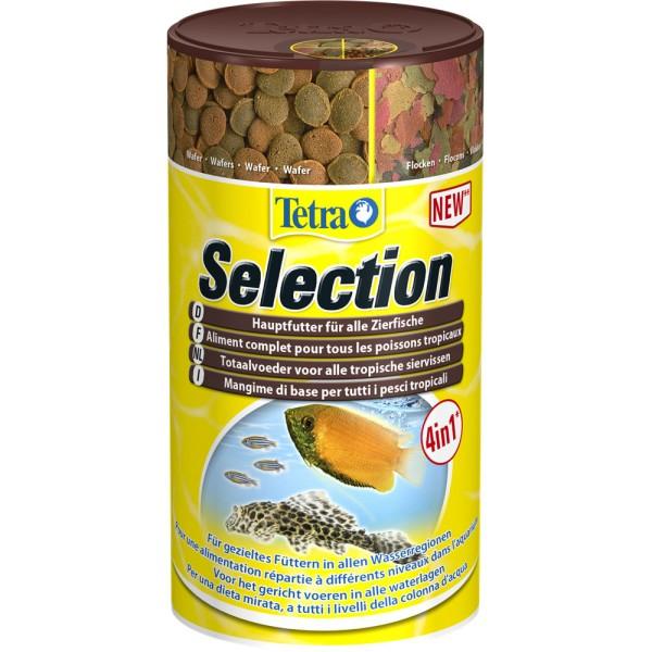 TETRA Selection Fischfutter 100ml - 4004218247550   by teichfreund24.de