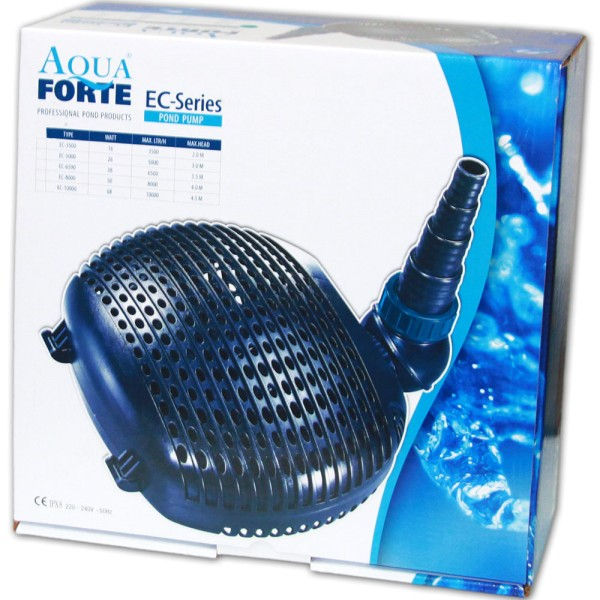AquaForte EC-5000 Teichpumpe - 8717605088037 I © by Teichfreund®
