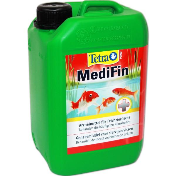 Tetra Pond MediFin Fischmedizin 3000ml - 4004218136267   © by teichfreund24.de