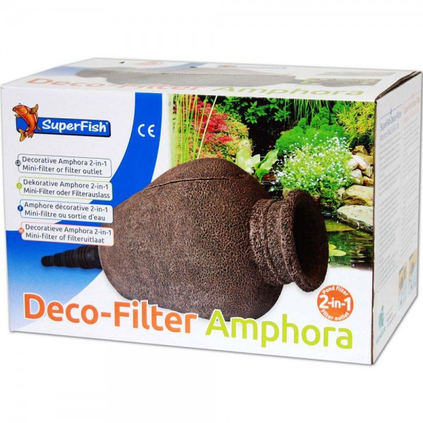 Superfish Amphore 2in1 Deco-Filter - 8715897271311 | © by teichfreund24.de