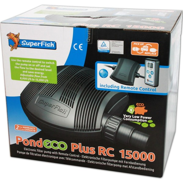 Superfish Pond ECO Plus RC 15000 Teichpumpe - 8715897269301 | © by teichfreund24.de