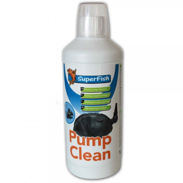 Superfish Pump clean Teichpumpenreiniger 1L - 8715897081590 | © by teichfreund24.de