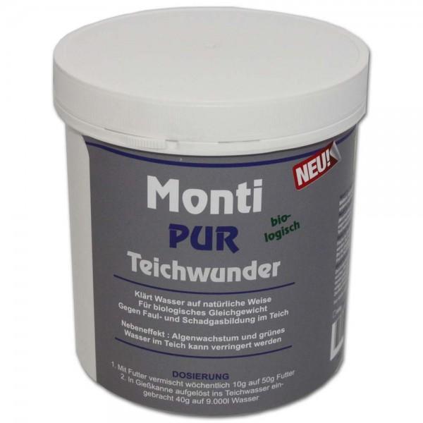 Teichfreund® Monti-Pur Teichwunder Wasseraufbereiter 800g | © by teichfreund24.de