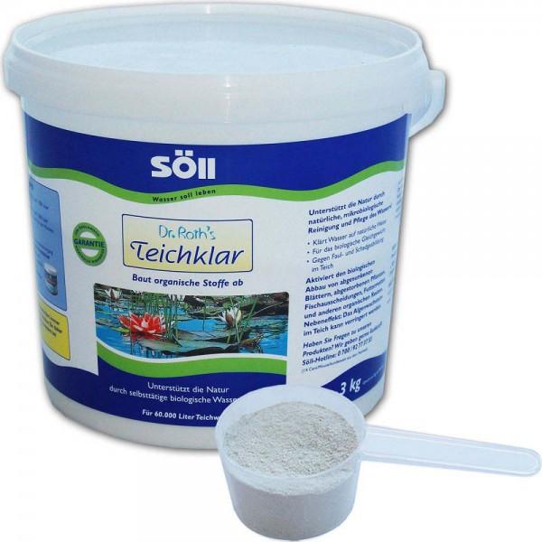 SÖLL Dr. Roth's Teichklar Teichschlammentferner 3kg - 4021028100752 | © by teichfreund24.de