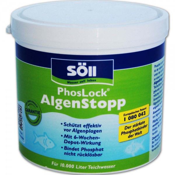 SÖLL PhosLock AlgenStopp 500g - 4021028110034 | © by teichfreund24.de