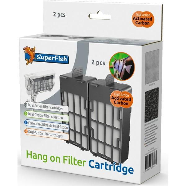 SuperFish Ersatz-Filterkassetten für Hang on Filter 100/200 - 8715897313363 | by teichfreund24.de