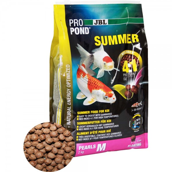 JBL ProPond Summer M Sommerfutter Ø 6mm 2kg - 4014162412294 | © by teichfreund24.de