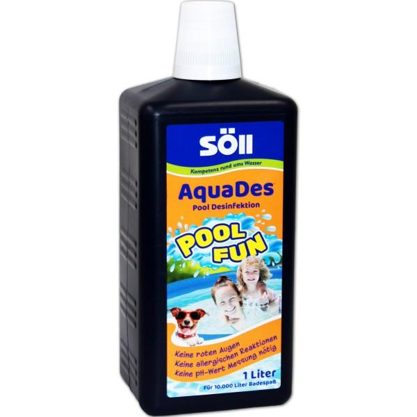 SÖLL AquaDes Desinfektion 1000 ml - 4021028314302 | © by teichfreund24.de