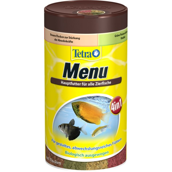 TETRA Menu Fischfutter 250ml - 4004218701410 | by teichfreund24.de
