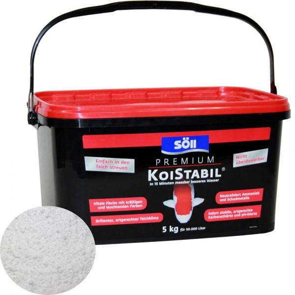 SÖLL Koistabil Premium Wasseraufbereiter 5kg - 4021028155400 | © by teichfreund24.de