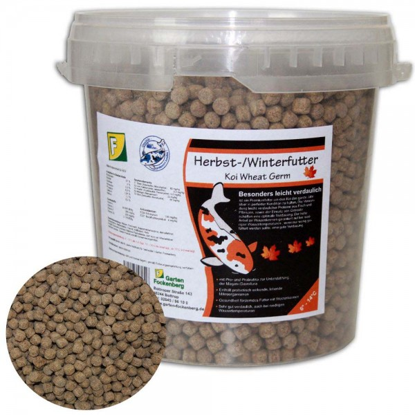 Teichoutlet® Herbst- / Winterfutter Wheat Germ 0,5kg | © by teichfreund24.de