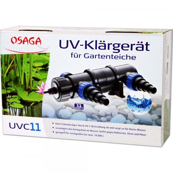 Osaga UV-Klärgerät UVC 11 - 4250247608835 | © by teichfreund24.de