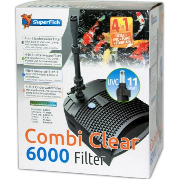 Combi Clear 6000 Teichfilter+Pumpe+UVC von SuperFish - 8715897308246 | © by teichfreund24.de