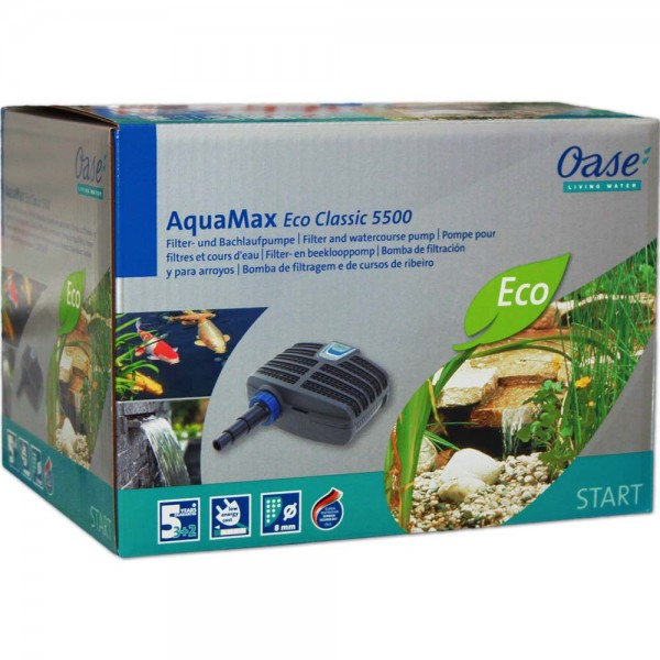 Oase AquaMax Eco CLASSIC 5500 Teichpumpe - 4010052510965 | © by teichfreund24.de