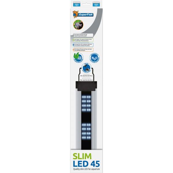 SuperFish Slim LED 45 Aquarium-Beleuchtung - 8715897305719 | by teichfreund24.de