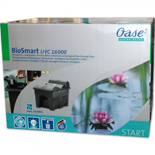 Oase BioSmart UVC 16000 Teichfilter - 4010052573779 | © by teichfreund24.de