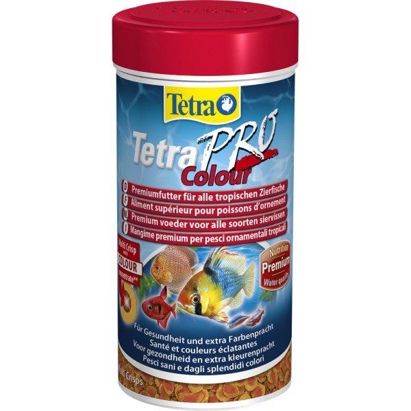 TETRA Pro Colour Multi Crisps 250 ml Zierfischfutter - 4004218140462 | © by teichfreund24.de