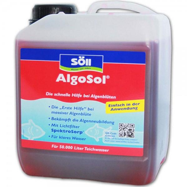 SÖLL AlgoSol Algenbekämpfung 2,5L - 4021028113332 | © by teichfreund24.de
