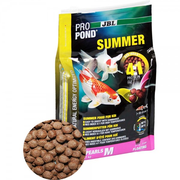 JBL ProPond Summer M Sommerfutter Ø 6mm 1kg - 4014162412287 | © by teichfreund24.de