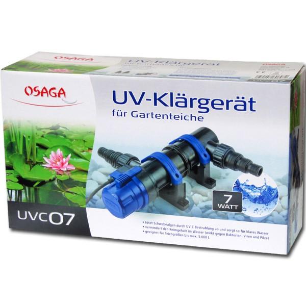 Osaga UV-Klärgerät UVC 7 Modell 2019 - 4250247608972 | © by teichfreund24.de