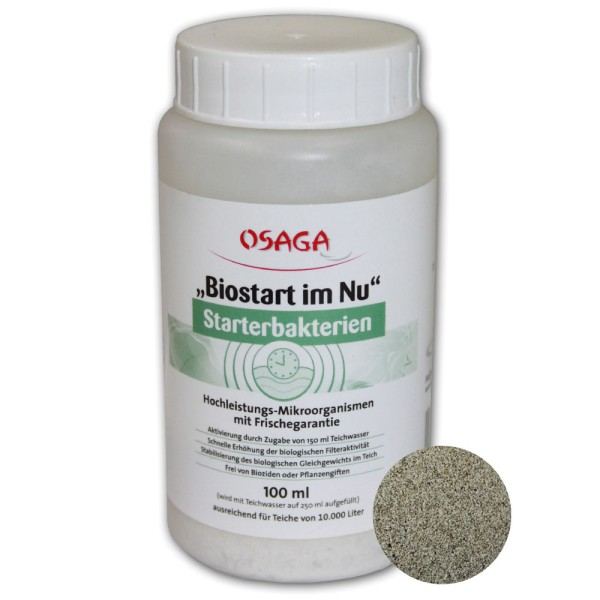 "OSAGA ""Biostart im Nu"" Starterbakterien 100ml - 4250247609955 