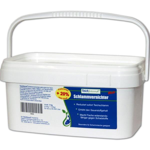 Teichfreund® Premium Schlammvernichter akut 3kg   © by teichfreund24.de