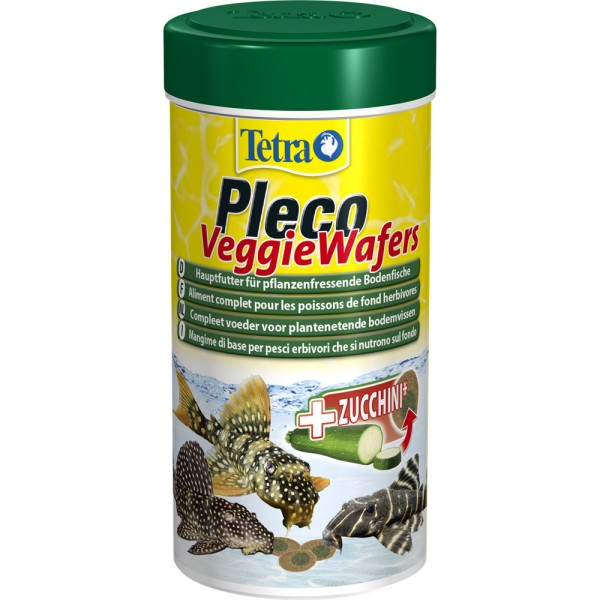TETRA Pleco Veggie Wafers 250 ml Zierfischfutter - 4004218151239 | © by teichfreund24.de