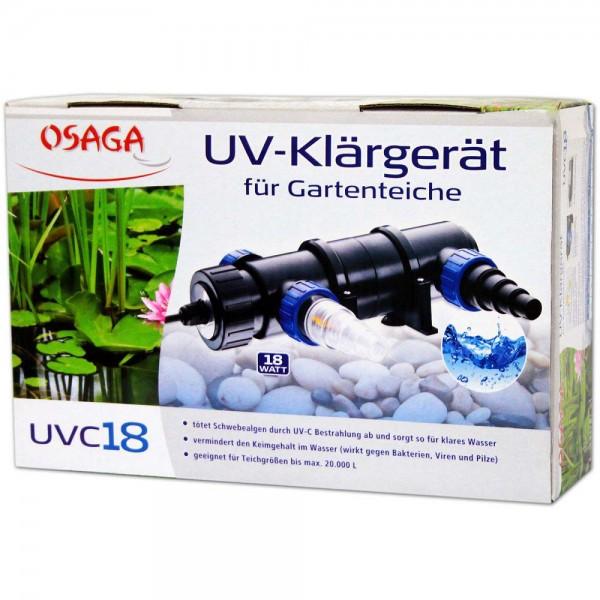 Osaga UV-Klärgerät UVC 18 - 4250247608842 | © by teichfreund24.de