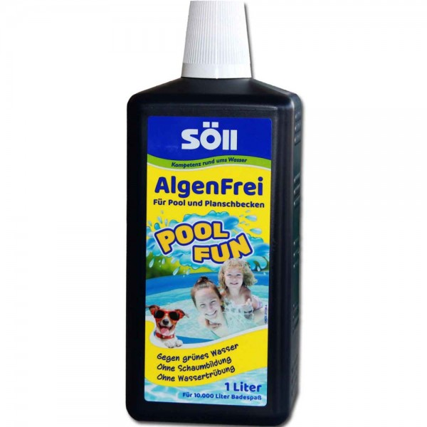 SÖLL AlgenFrei Pool Fun 1000ml - 4021028311301 | © by teichfreund24.de
