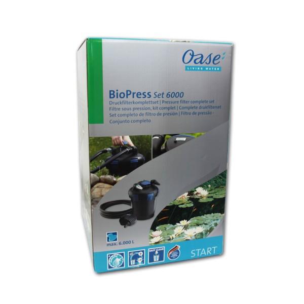 OASE BioPress Set 6000 Teichfilter+Pumpe+UVC - 4010052504537   © by teichfreund24.de