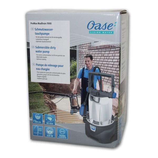 OASE ProMax MudDrain 7000 Schmutzwasser-Tauchpumpe - 4010052422664 | © by teichfreund24.de