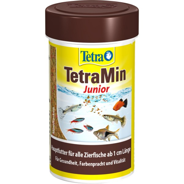 TETRA TetraMin Junior Fischfutter 100ml - 4004218764798 | by teichfreund24.de