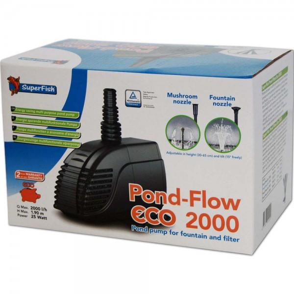 SUPERFISH Pond Flow ECO 2000 Teichpumpe - 8715897044090 | © by teichfreund24.de