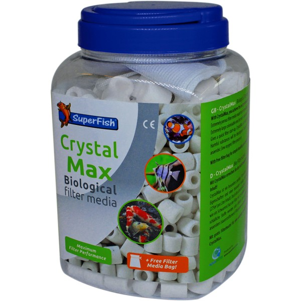 SuperFish CrystalMax 1500ml Filtermedien - 8715897261541 | by teichfreund24.de