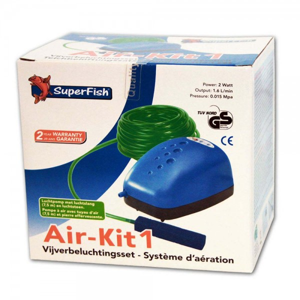 SUPERFISH Air-Kit 1 Teichbelüfter - 8715897006883 | © by teichfreund24.de