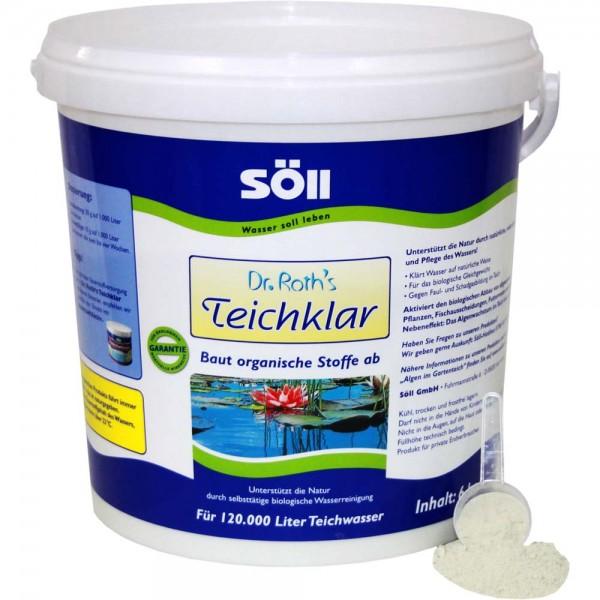 SÖLL Dr. Roth's Teichklar Teichschlammentferner 6kg - 4021028100783 | © by teichfreund24.de