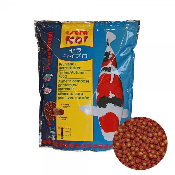 Sera Koi Professional Frühjahr- / Herbstfutter 2200g - 4001942070133 | © by teichfreund24.de