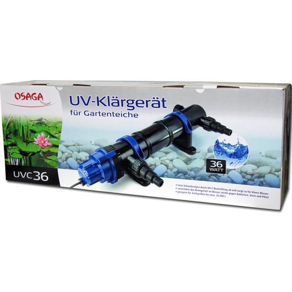 Osaga UV-Klärgerät UVC 36 Modell 2019 - 4250247609016 | © by teichfreund24.de