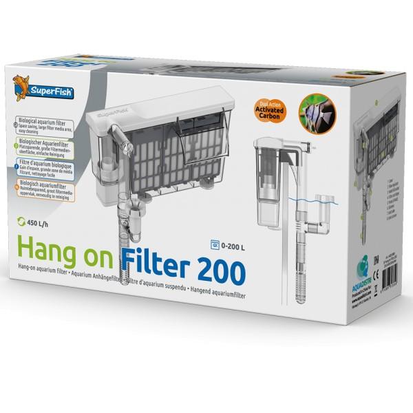 SuperFish Hang on Filter 200 Anhängefilter - 8715897313356 | by teichfreund24.de