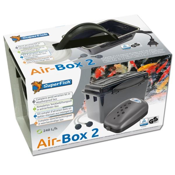 SUPERFISH Air-Box 2 Teichbelüftung - 8715897025440 | © by teichfreund24.de