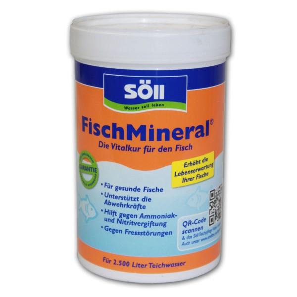 SÖLL FischMineral Wasseraufbereiter 250g - 4021028152324 | © by teichfreund24.de